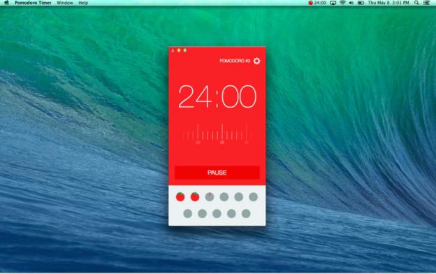 pomodoro timer app for osx