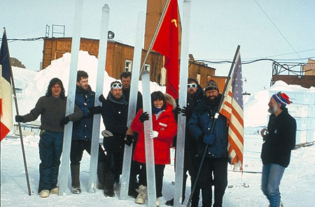 team photo ice core